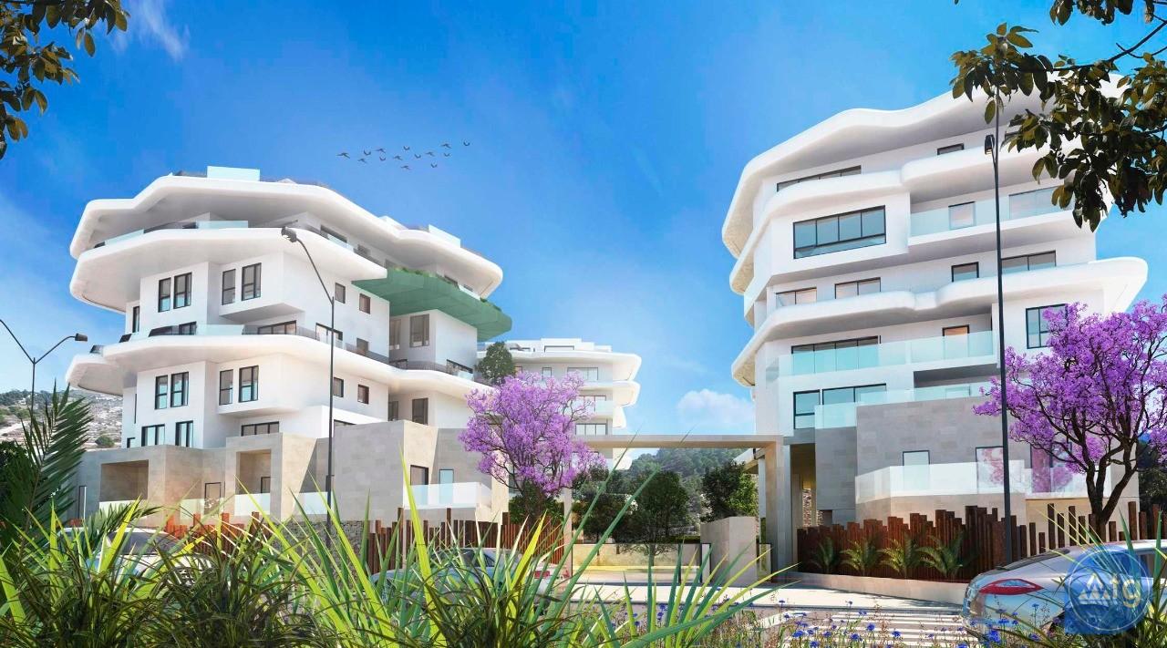 3 bedroom Penthouse in Villajoyosa - QUA8637 - 15