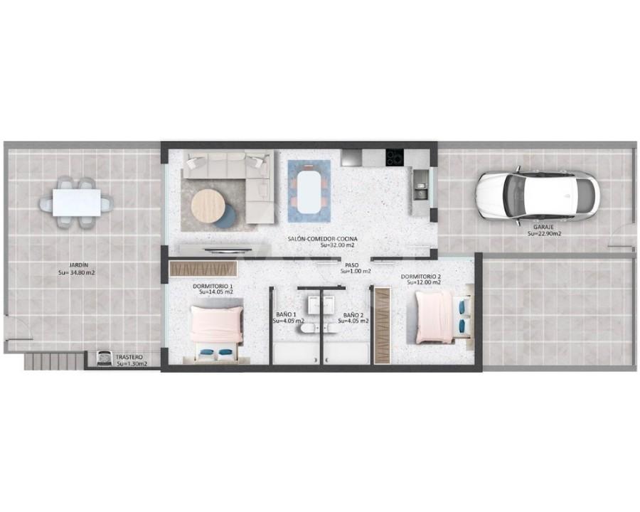 3 bedroom Penthouse in Villamartin - NS8277 - 3