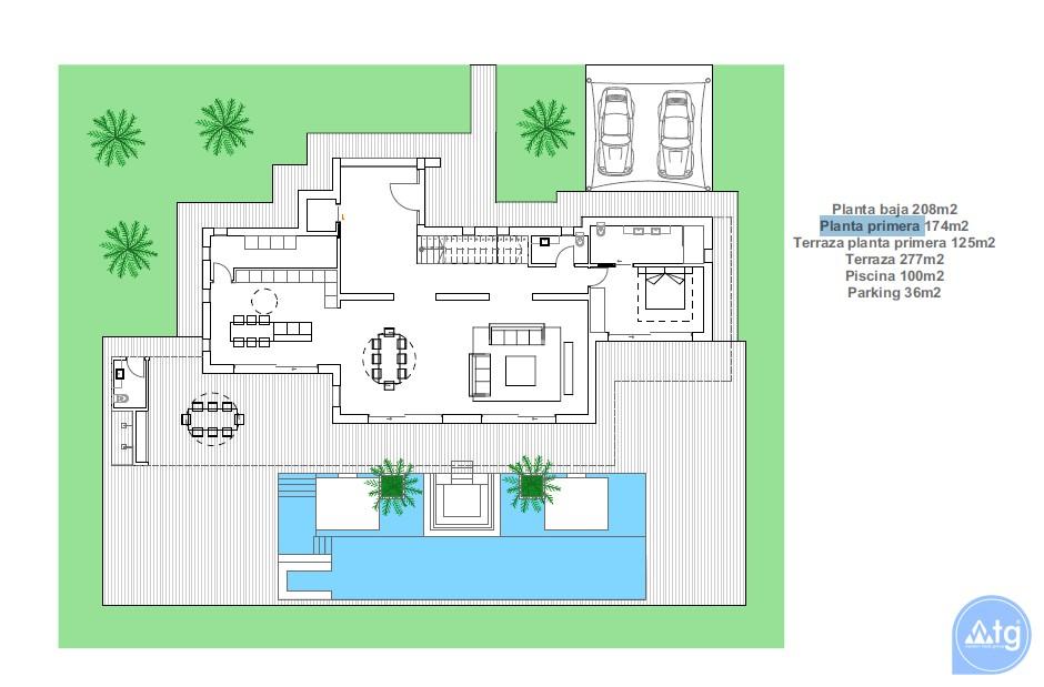 3 bedroom Villa in Dehesa de Campoamor  - AGI115711 - 6
