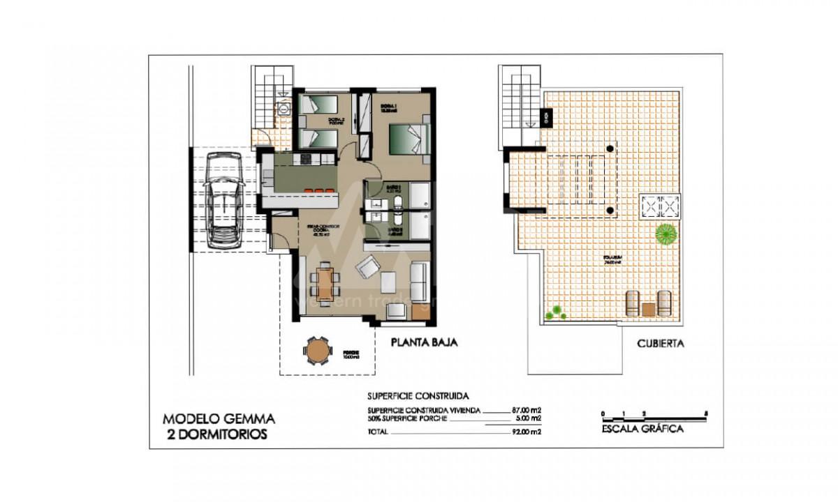 3 bedroom Villa in Dehesa de Campoamor  - AGI115710 - 17