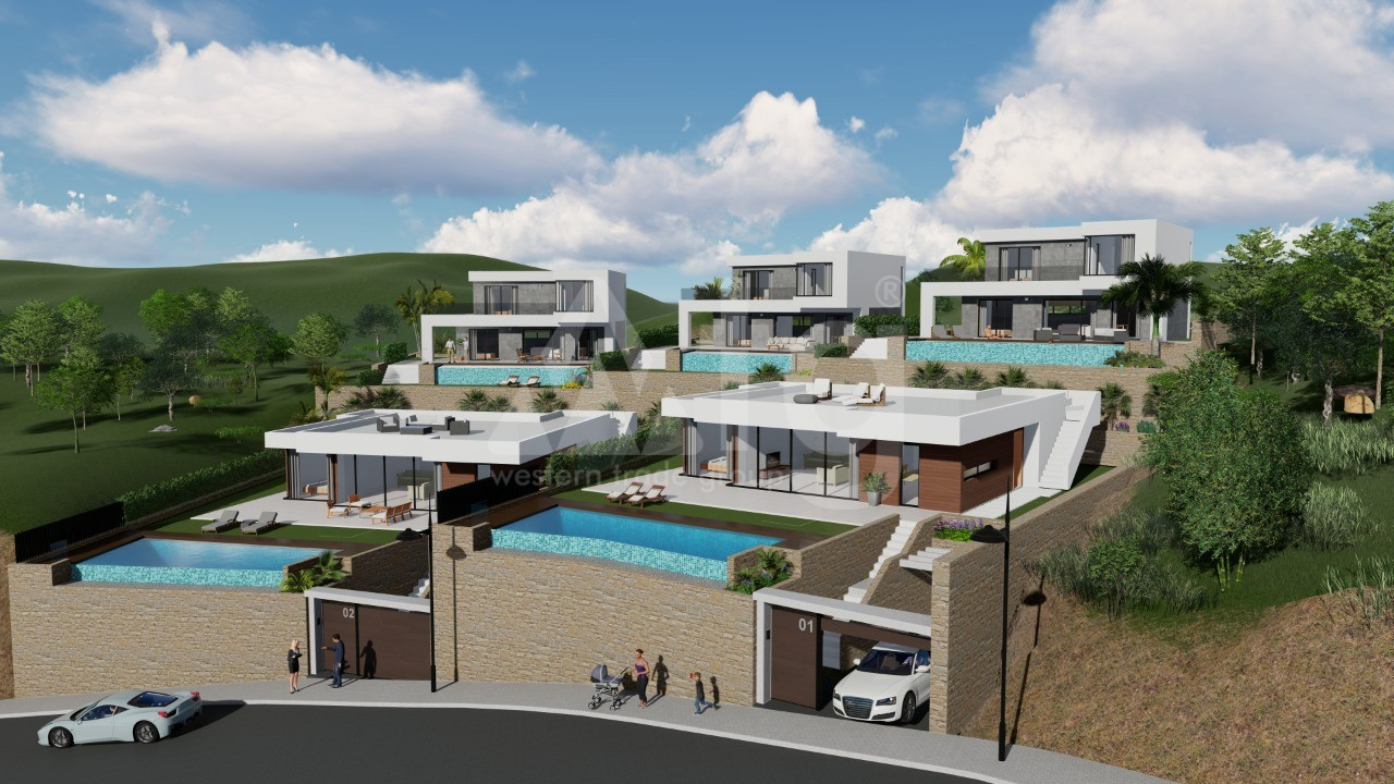 4 bedroom Villa in Benidorm  - CAM7712 - 2