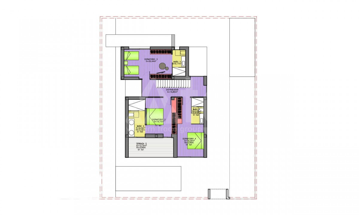 4 bedroom Villa in Dehesa de Campoamor - AGI3986 - 10