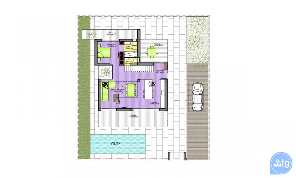 4 bedroom Villa in Dehesa de Campoamor - AGI3986 - 9