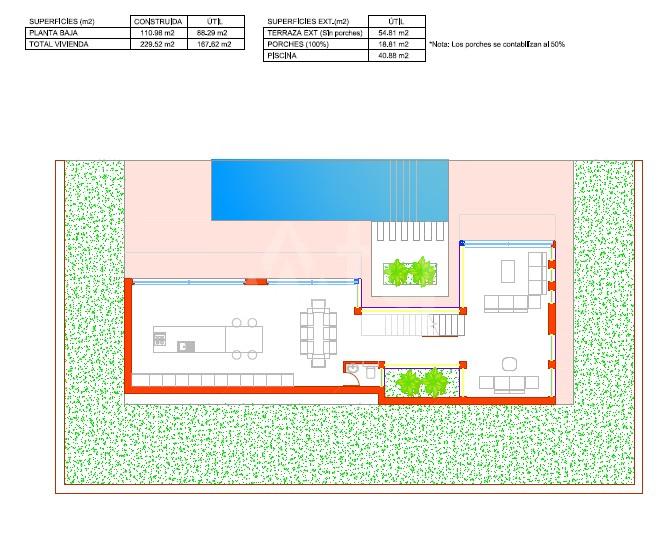 3 bedroom Villa in Dehesa de Campoamor  - AGI115714 - 12