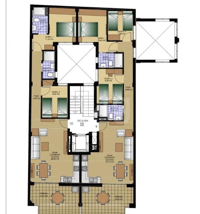 3 bedroom Villa in Los Montesinos  - SUN115303 - 26