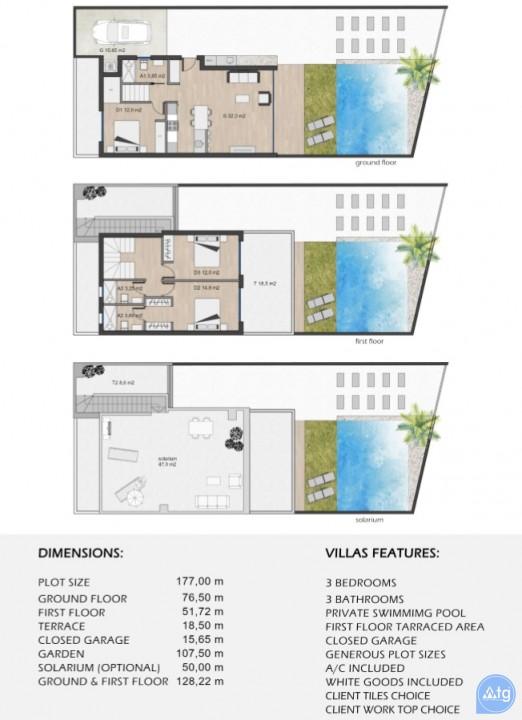 3 bedroom Villa in Santiago de la Ribera  - WHG115921 - 40