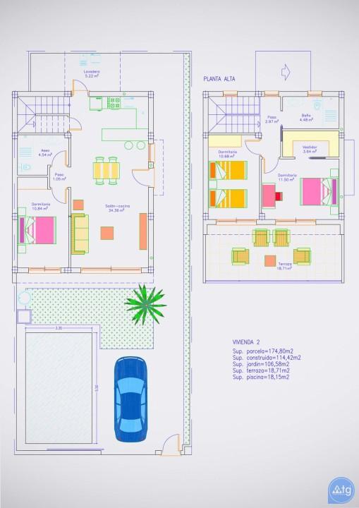 Villa de 3 chambres à Pilar de la Horadada - RP8068 - 20