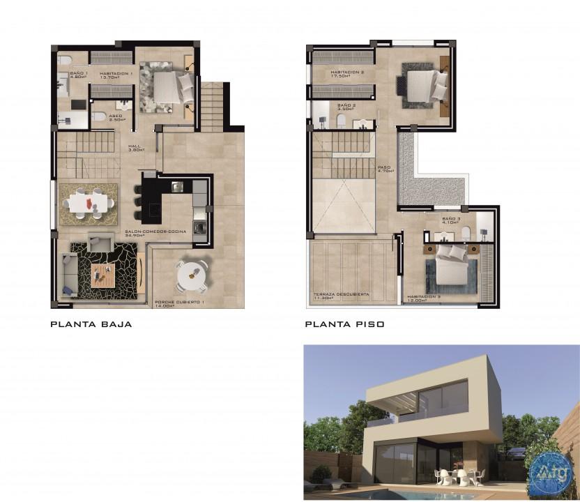 Villa de 3 chambres à Rojales - ERF115327 - 7