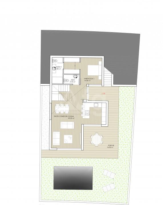 Villa de 3 chambres à Rojales - ERF115327 - 8