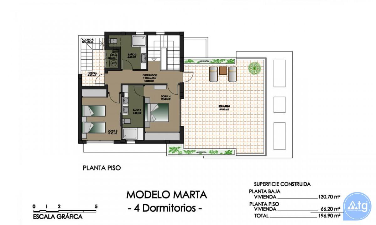 Villa de 4 chambres à Dehesa de Campoamor - AGI115707 - 43