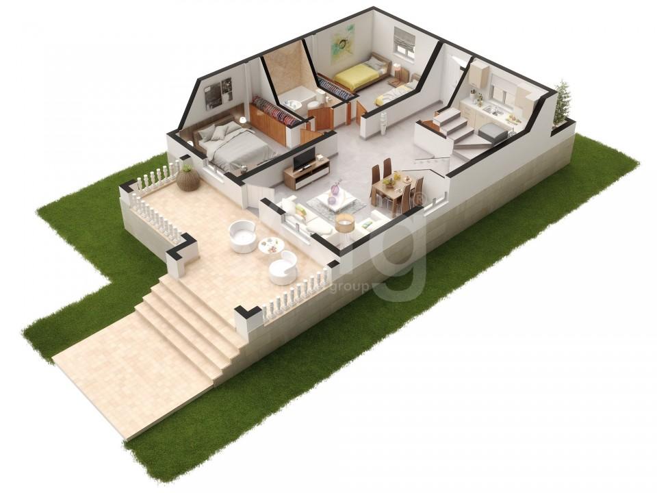 Villa de 2 chambres à Balsicas - US6934 - 13