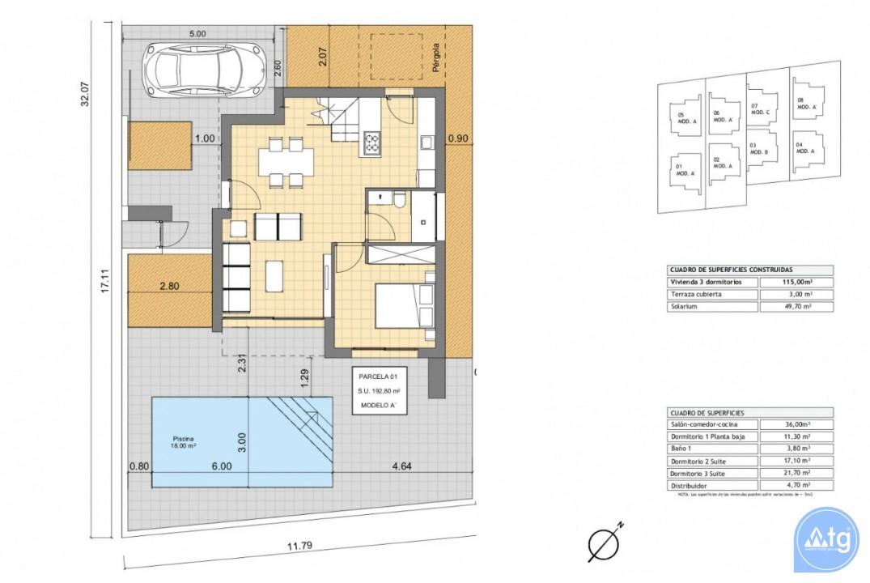 Villa de 2 chambres à Torrevieja - AG2223 - 6