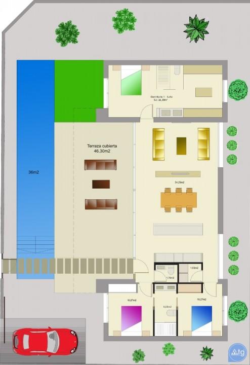 Townhouse de 3 chambres à Torrevieja - AG9467 - 3