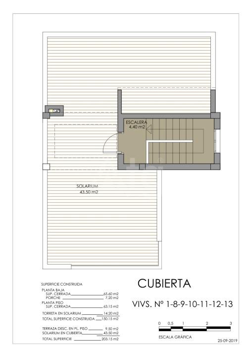 Townhouse de 3 chambres à Torre de la Horadada - MT7020 - 10