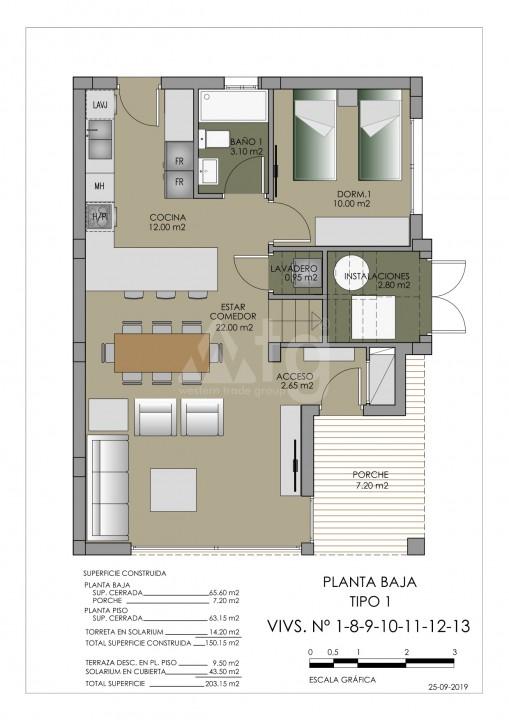 Townhouse de 3 chambres à Torre de la Horadada - MT7020 - 8