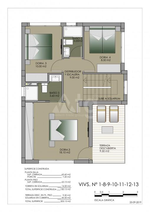 Townhouse de 3 chambres à Torre de la Horadada - MT7020 - 9