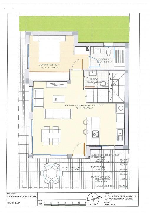 Villa de 3 chambres à Los Montesinos - OI7628 - 35