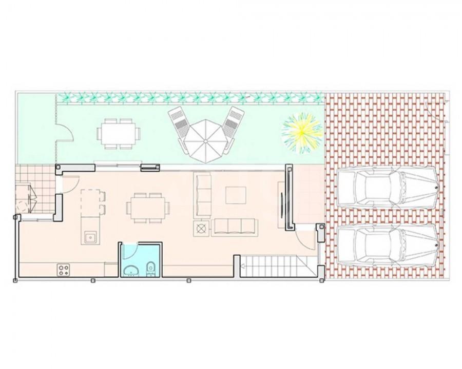 Villa de 3 chambres à Pilar de la Horadada - RP8069 - 11