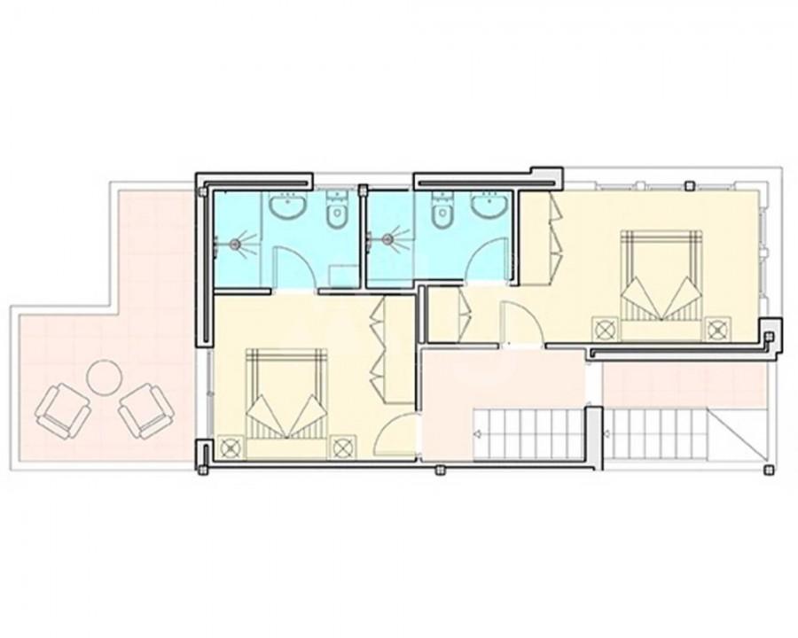 Villa de 3 chambres à Pilar de la Horadada - RP8069 - 12