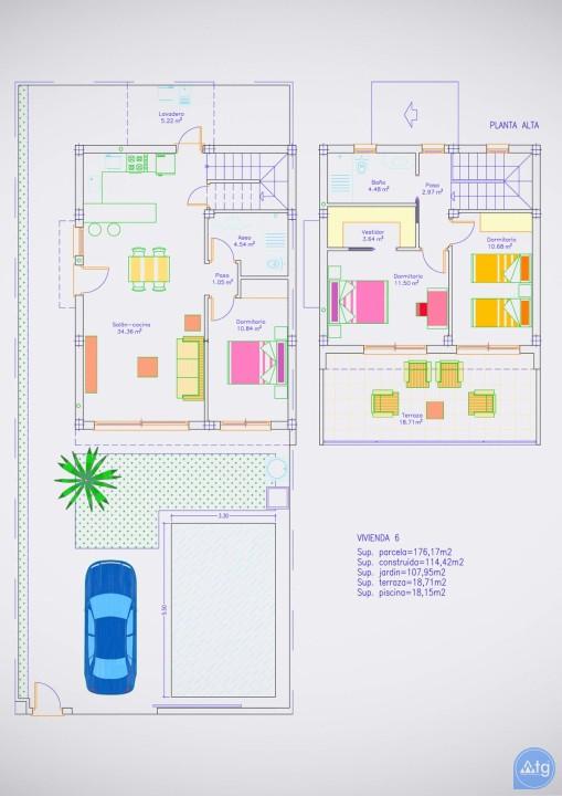 Villa de 3 chambres à Pilar de la Horadada - RP8069 - 24