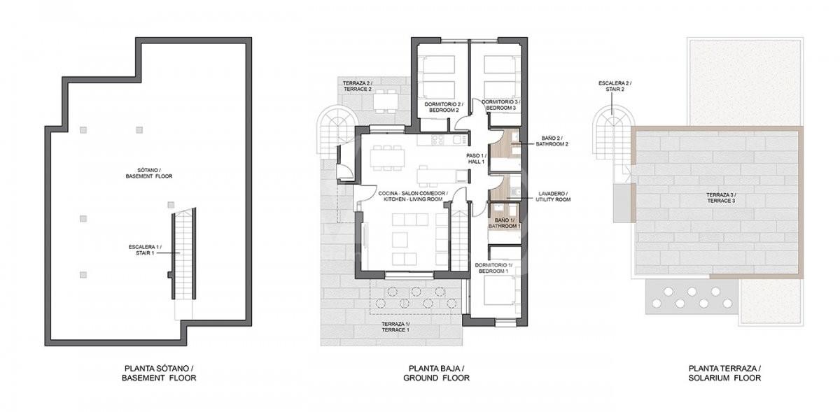 2 bedroom Apartment in La Manga  - GRI115269 - 24