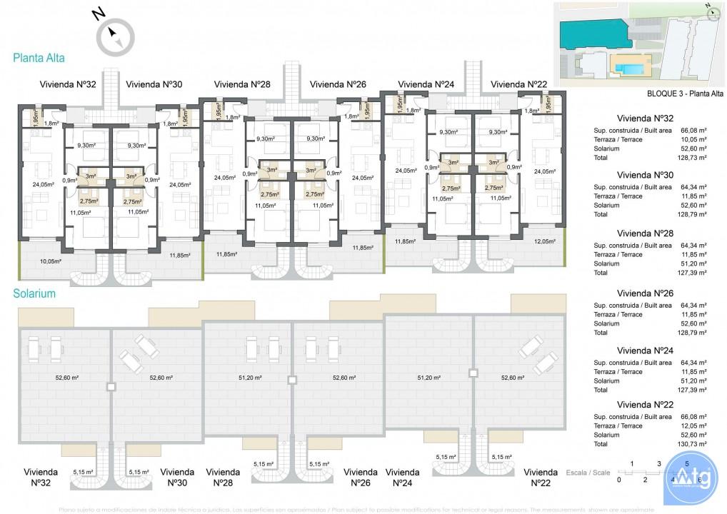 2 bedroom Apartment in Pilar de la Horadada  - VG114707 - 10