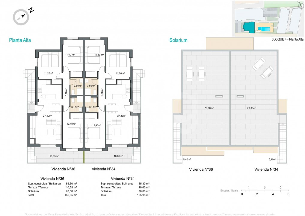 2 bedroom Apartment in Pilar de la Horadada  - VG114707 - 12