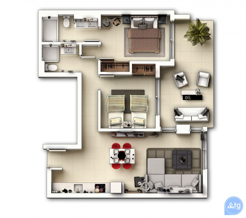 2 bedroom Apartment in Punta Prima  - GD114496 - 44