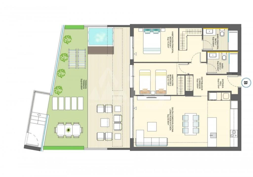 2 bedroom Apartment in Torre de la Horadada - CC115177 - 22