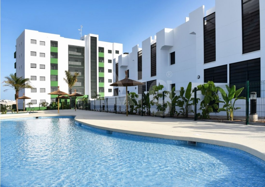 3 bedroom Apartment in Torre de la Horadada  - CC7391 - 1