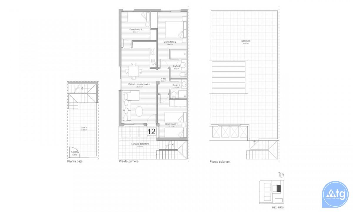 3 bedroom Apartment in Punta Prima - OV6171 - 23