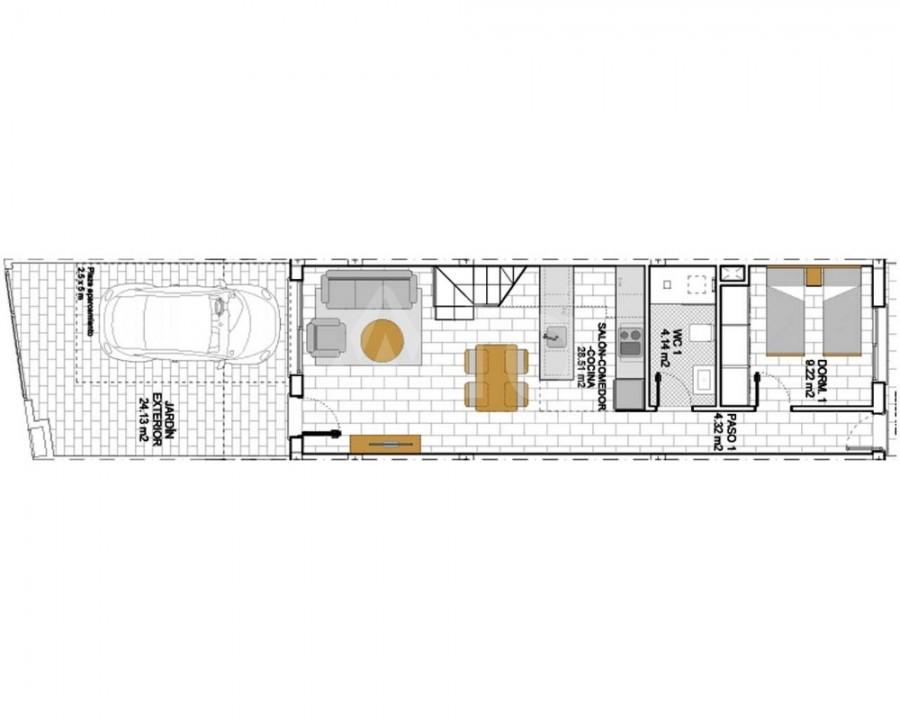 2 bedroom Bungalow in Algorfa - PT8113 - 9