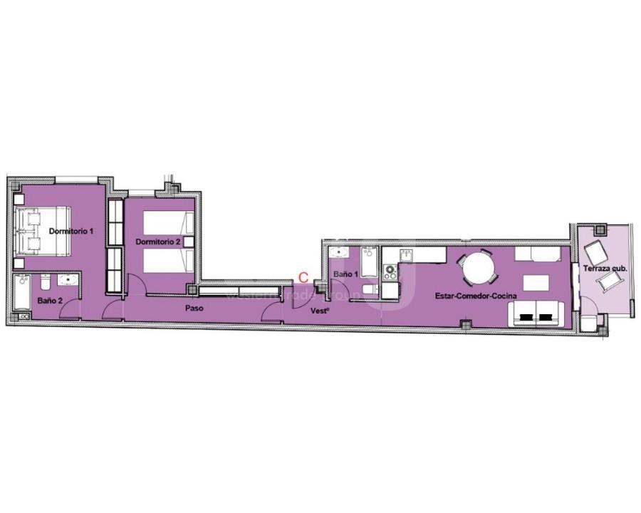 2 bedroom Bungalow in Algorfa - PT8107 - 21