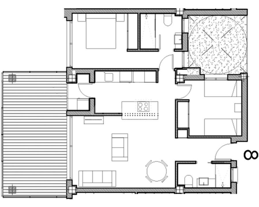 2 bedroom Bungalow in Guardamar del Segura  - CN7838 - 10