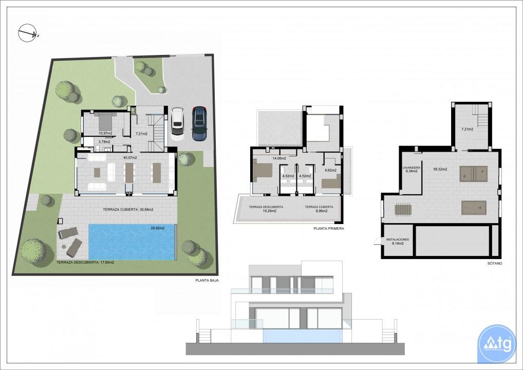 2 bedroom Bungalow in Guardamar del Segura - CN6495 - 24