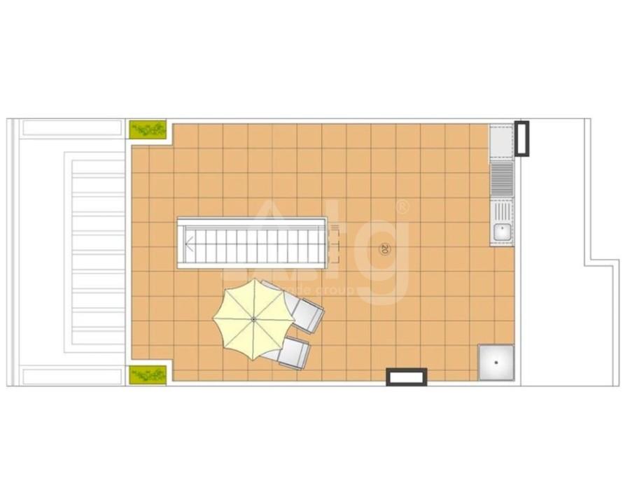 1 bedroom Bungalow in Pilar de la Horadada  - SR8181 - 13