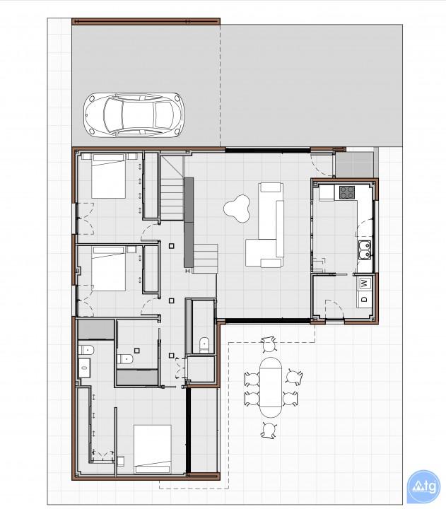 2 bedroom Bungalow in Torrevieja  - US6852 - 8