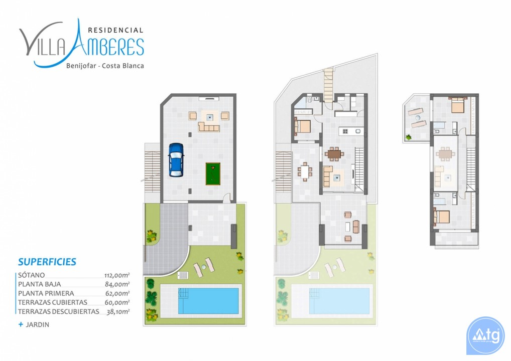 4 bedroom Villa in Benijófar - GV5361 - 33