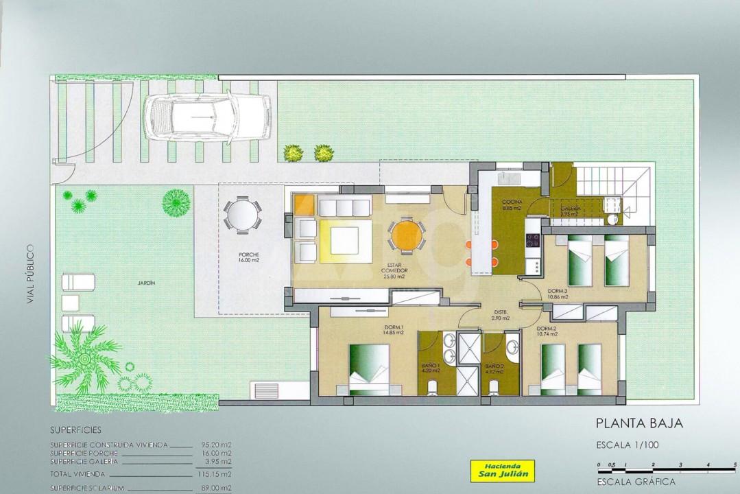 3 bedroom Villa in Lorca - AGI4005 - 32