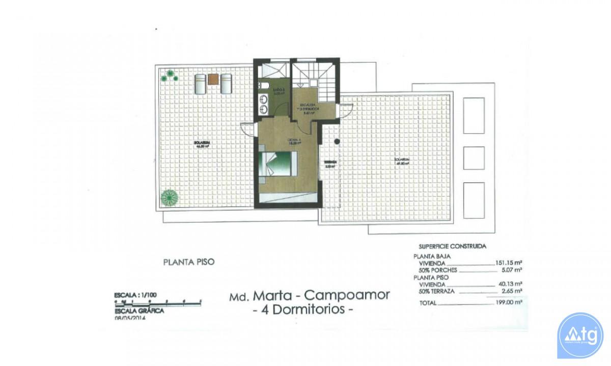 4 bedroom Villa in Dehesa de Campoamor  - AGI115708 - 40