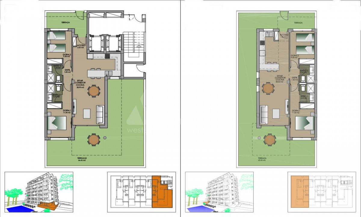 2 bedroom Apartment in Guardamar del Segura - AGI3990 - 27
