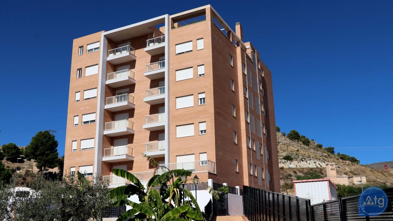 Modern New Apartments in Jijona, Costa Blanca, Spain ...