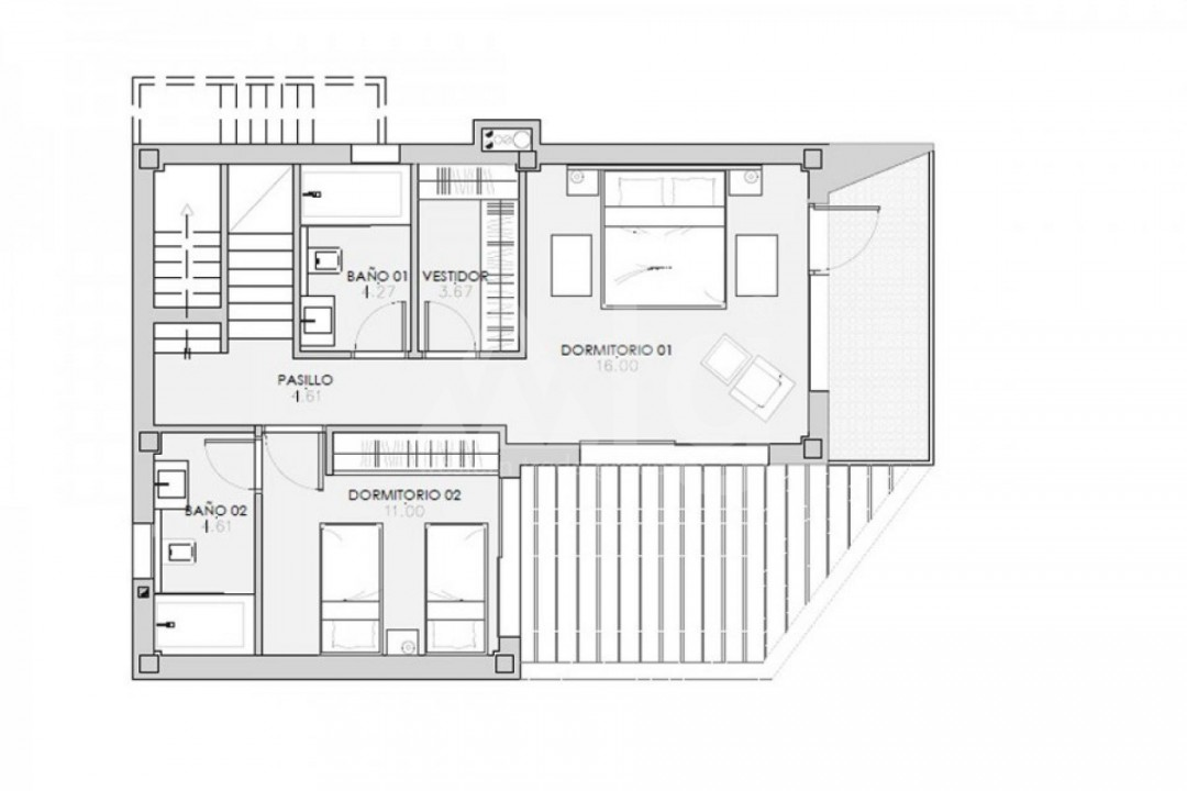 2 bedroom Apartment in Punta Prima  - GD114492 - 10