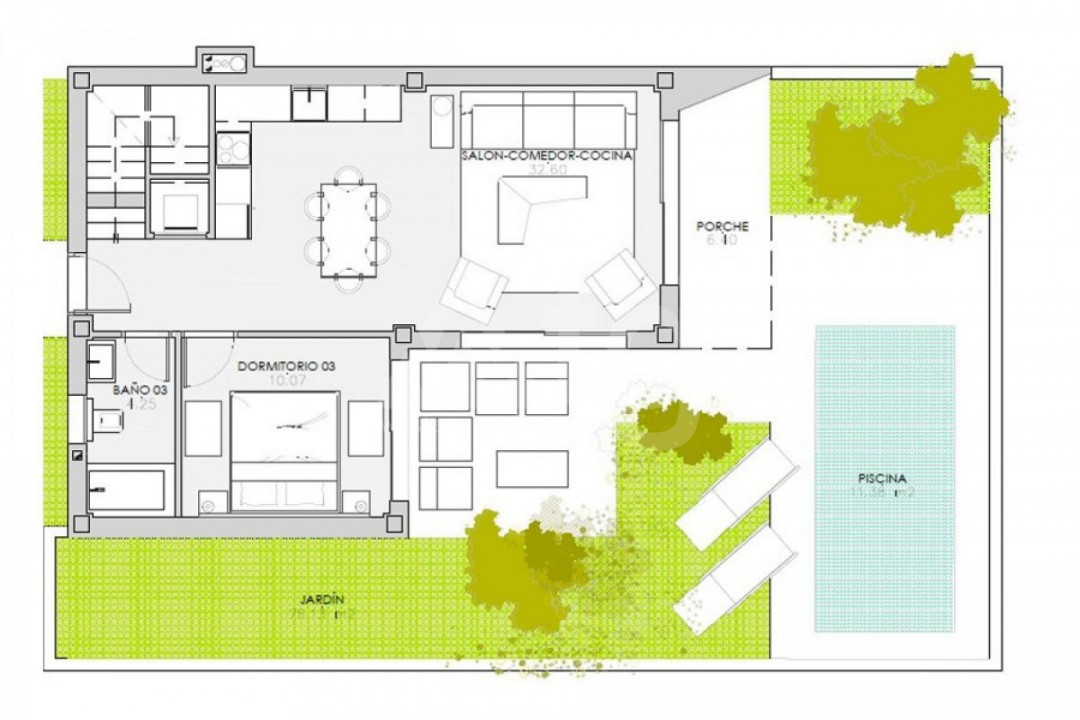 2 bedroom Apartment in Punta Prima  - GD114492 - 9