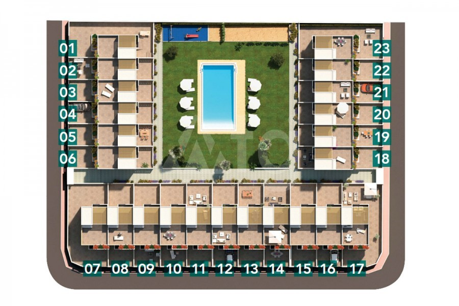 2 bedroom Apartment in Torrevieja  - TR7299 - 16