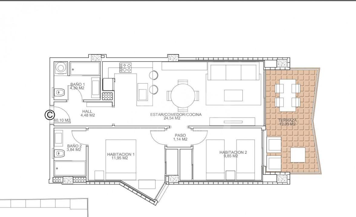 2 bedroom Apartment in Torrevieja  - VA114751 - 6