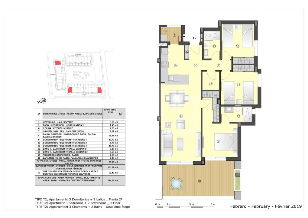3 bedroom Apartment in Murcia - OI7571 - 20