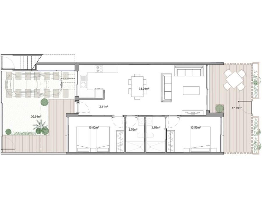 3 bedroom Bungalow in Guardamar del Segura  - CN7848 - 11