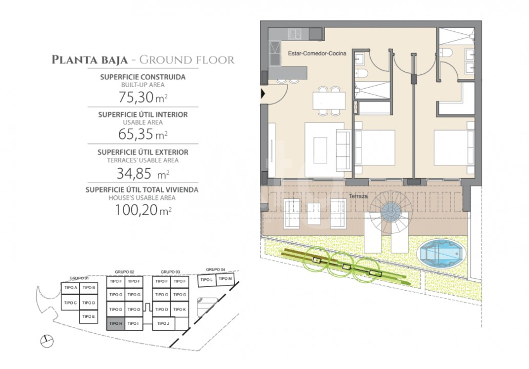 2 bedroom Bungalow in Guardamar del Segura  - CN6512 - 22