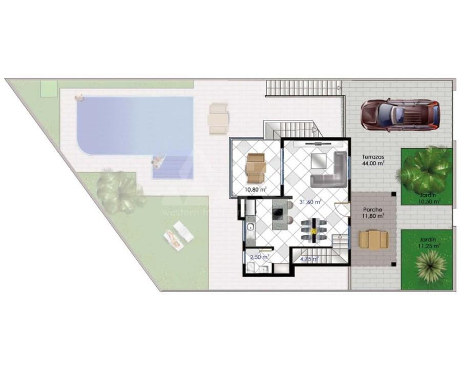 2 bedroom Bungalow in Guardamar del Segura - CN7836 - 12